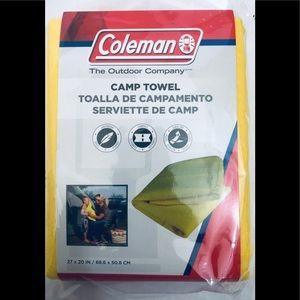 New Coleman camping towel